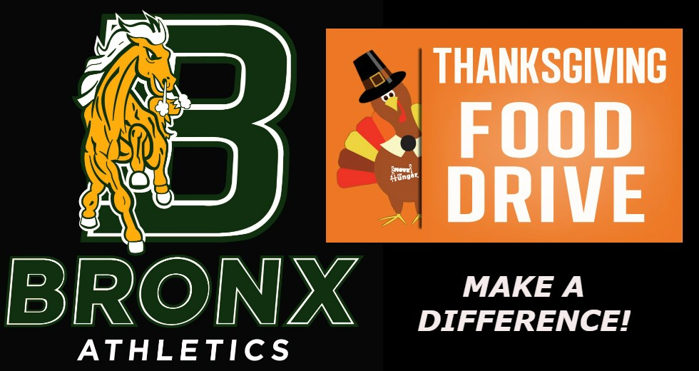 Bronx Community College Department Of Athletics Now Accepting Food Donations For BCC Single Stop